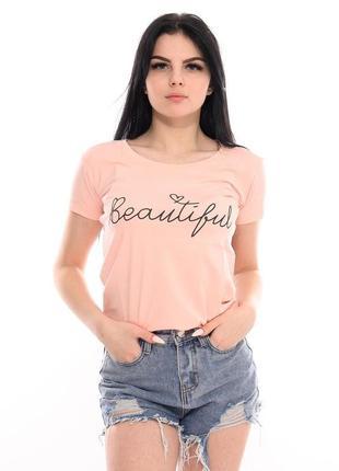 Женская футболка. отличного качества. турция