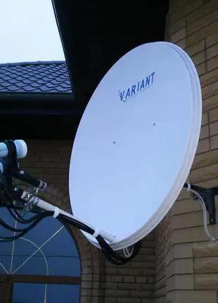Антенны спутниковые, тюнера для кодированных каналов, Т2