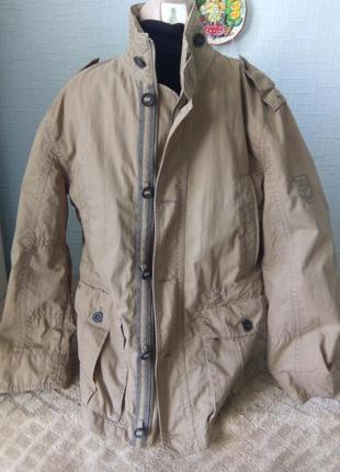 Оригинальная стильная куртка милитари стиль camel active