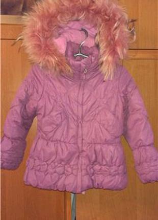 Куртка для девочки размер 98, 3 года