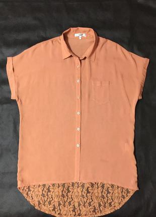 Нарядная блузка размер 54-56. бренд oxygene.