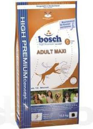 BOSCH (Бош) ADULT MAXI - корм для собак крупных пород, 15кг