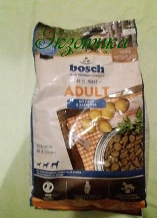 Bosch Adult Fish & Potato 15кг (рыба+картофель)