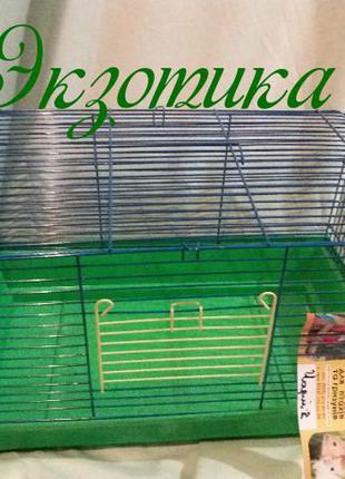 Клетка 47х30х30 для кроликов, крыс, хомяков и прочих грызунов ...