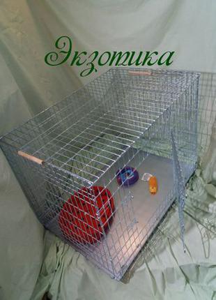 Клетка для собаки Волк-3 124*78*71см