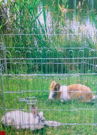 Вольер манеж с дверцей для собак, кошек, кроликов