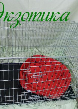 Клетка для собаки Croci 78 (Кроучи Кроси вольер) 2 двери цинк