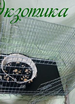 Клетка, для собак Кросси Croci, Кроучи: 109 х 79 х 71 см
