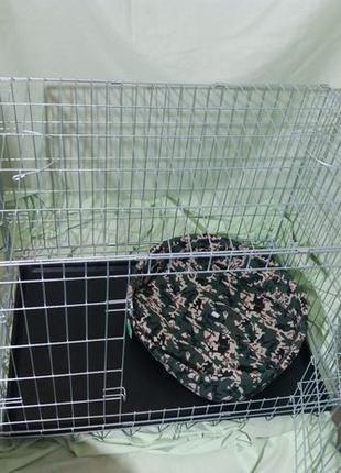 """""""Croci """" Клетка для собак, цинк 116*77*86( вольер кроучи кросси)"""