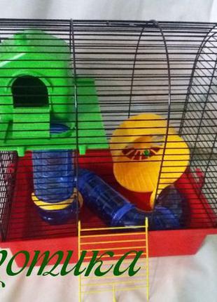 !!!АКЦИЯ!!!Клетка для грызунов Лори с Трубами