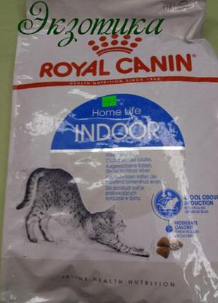 Royal Canin (Роял Канин) 4кг. INDOOR 27 (ИНДОР) сухой корм кот...
