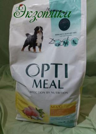 OptiMeal корм для крупных пород – курица
