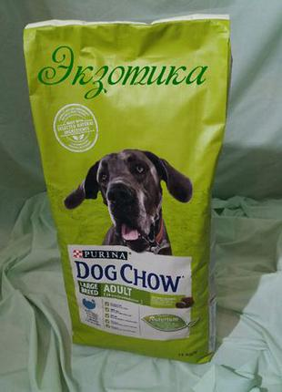 Dog Chаow Adult Large Breed 14 кг(дог чау индейка крупные породы)