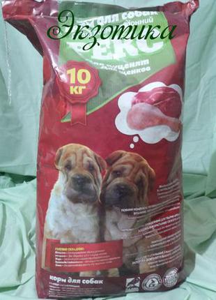 Корм Рекс для щенков 10 кг