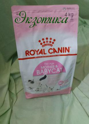 Royal Canin Mother&Babycat 34 - 4кг для котят 1-4мес