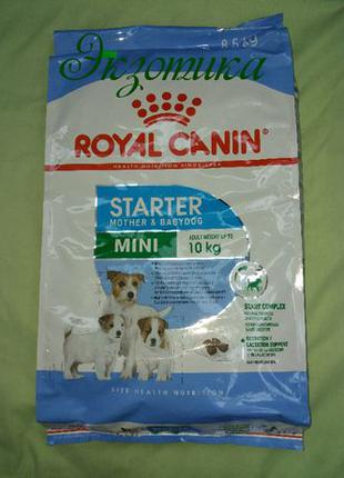 Royal Canin (Роял Канин) Mini Starter (мини cтартер) 10 кг кг