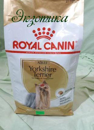 Royal Canin Yorkshire Terrier Adult 1,5кг Для собак йорка