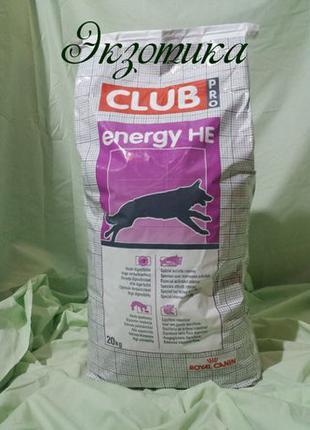 Royal Canin Клуб Про НЕ (20 кг) - сухой корм для активных собак
