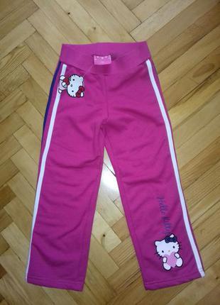 Продам штани нові Hello kitty байка/начес р. 110
