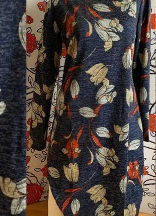 Платье ангора-софт 58  размер 🍒🍒🍒