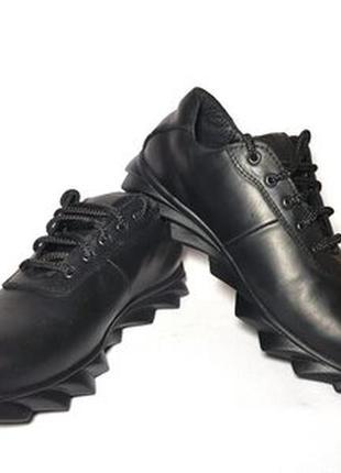 Туфли кроссовки кожа натуральная