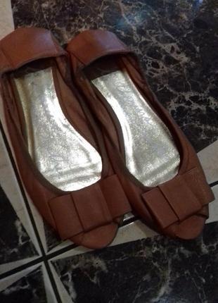 Кожаные туфли)oasis