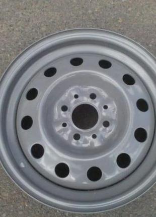 Диск колесный ВАЗ 2170, АвтоВАЗ (14H2x5,5J) серый