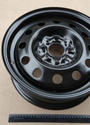 Диск колесный ВАЗ 2110, АвтоВАЗ (14H2x5,0J) черный