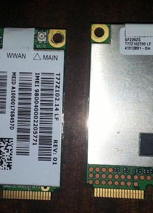 3G mini-PCIe модем внутренний карта GOBI Sierra