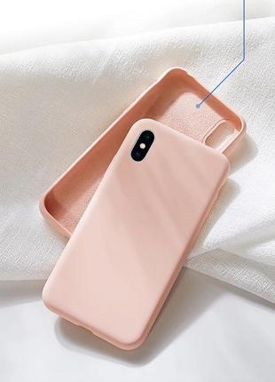 Чехол силиконовый на iphone 10 x silicon case