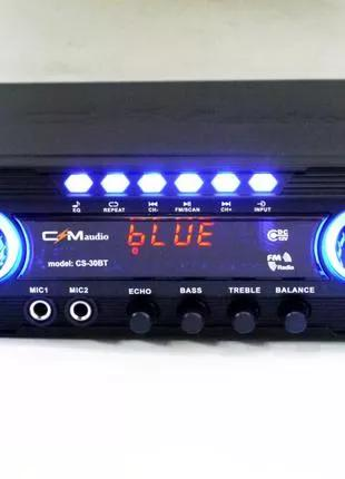 Усилитель CMaudio CS30BT - Bluetooth, USB,SD,FM,MP3! Караоке