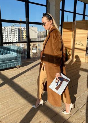 Облегченное пальто весеннее без подкладки