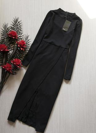 Вискозное платье zara