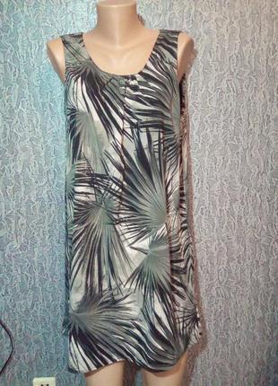 Лёгкое, летнее свободное платье