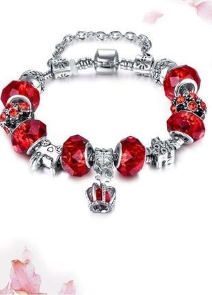 Модный браслет с шармами -стиль, новый! арт.109167