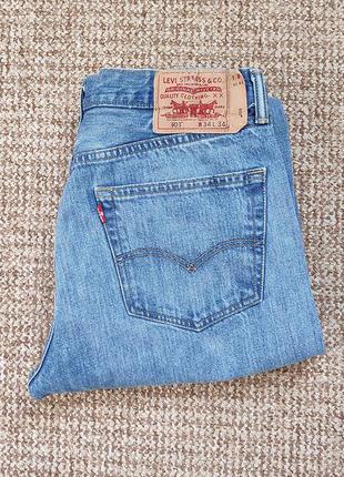 Levi's 501 джинсы оригинал (w34 l34)