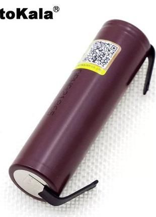 Аккумуляторы 18650 Litokala HG2 3000мАh, высокотоковые 30А,