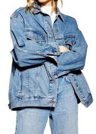 """Куртка джинсовая свободного кроя """"denim co"""""""