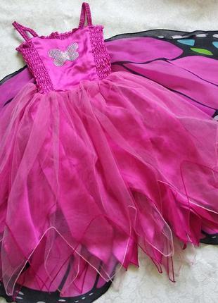 Платье бабочки для 2-3 года