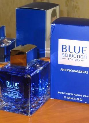 Antonio Banderas Blue Seduction for Men. Туалетна вода EDТ 100 МЛ