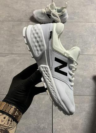 New balance 574 white black