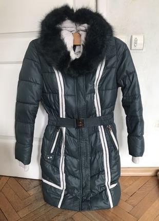 Зимняя куртка дутик женская