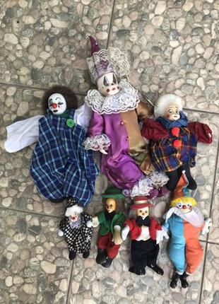 Коллекционные куклы клоуны Германия