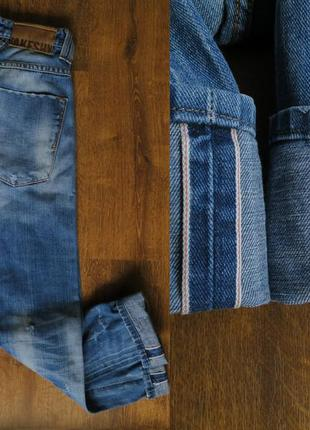 Мужские сэлвидж джинсы takeshy kurosawa men's slim fit selvedg...