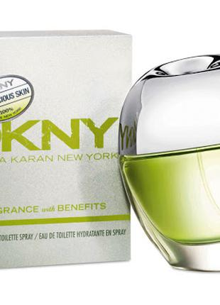 DKNY Be Delicious Skin Fragrance With Benefits.  Туалетная вода