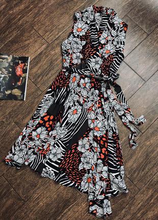 Очень стильное летнее платье большого размера
