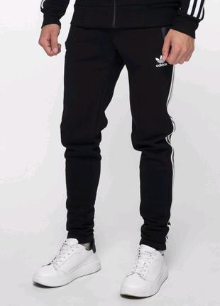 Спортивные штаны в стиле Adidas Thre line