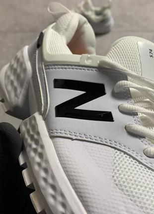 Мужские белые кроссовки нью баланс new balance 574