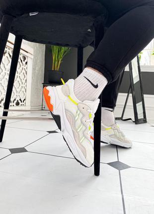 """Adidas ozweego """"white""""  мужские кроссовки адидас белые озвего"""