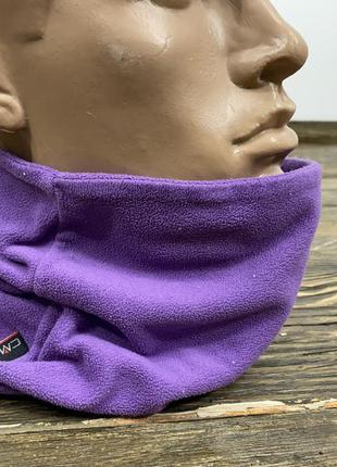 Баф теплый, флисовый cmp, фиолетовый